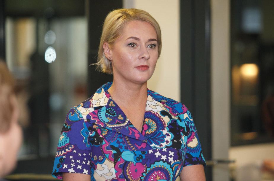 Daiva Gineikaitė teisme