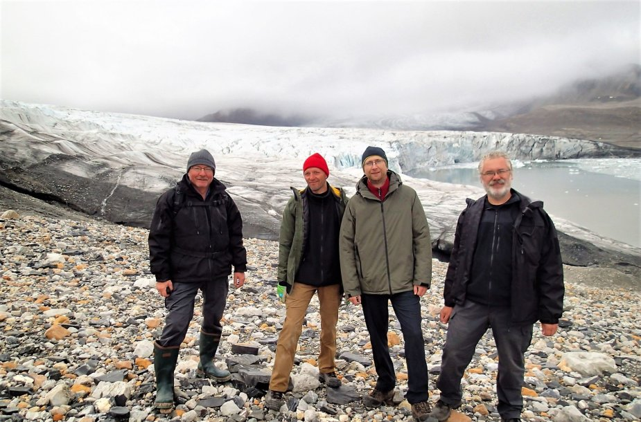 KU mokslininkų ekspedicija Arktyje.