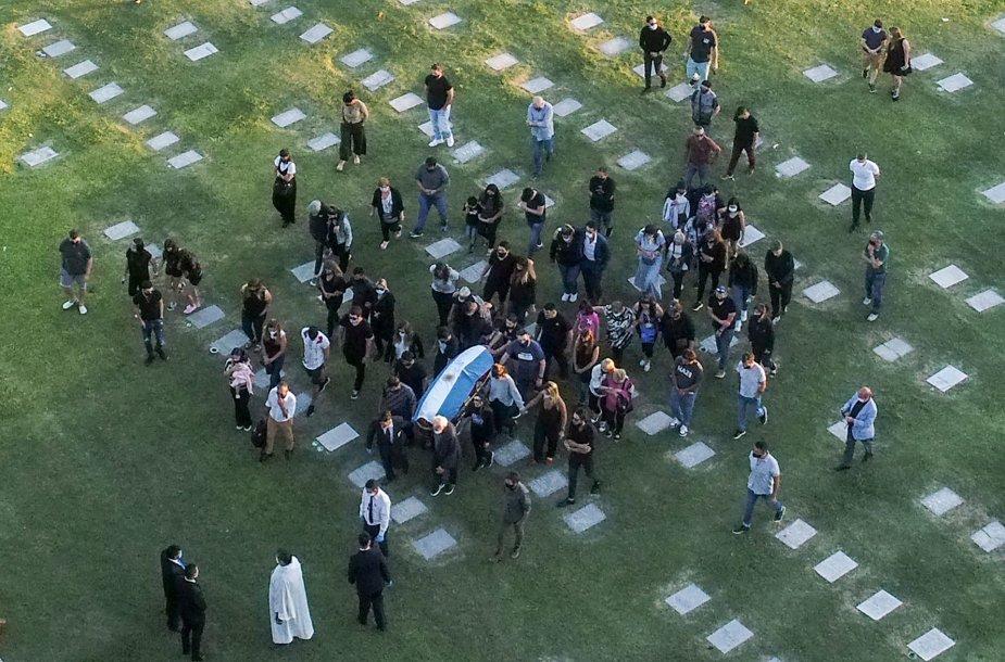 D.Maradonos laidotuvės