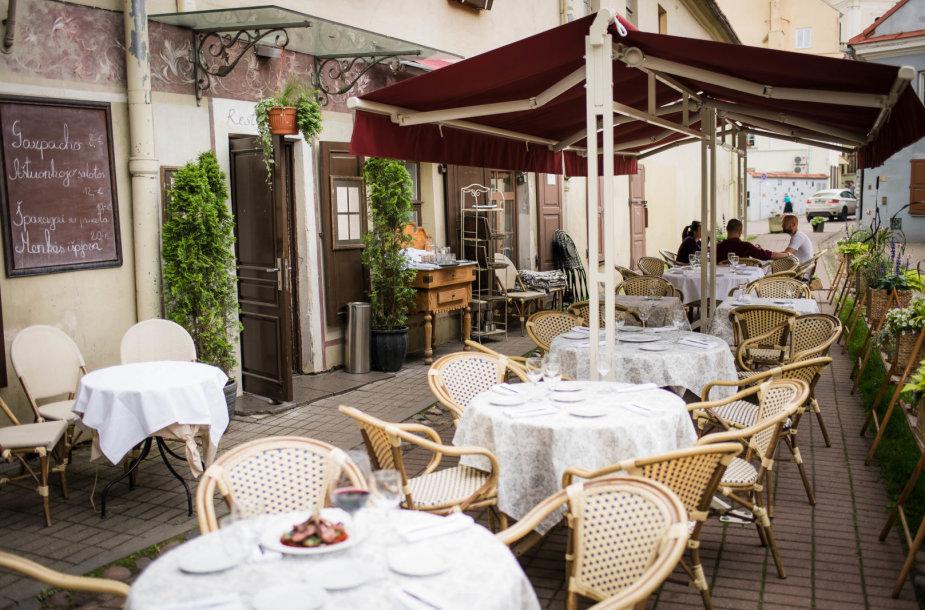 "Restorano ""Saint Germain"" lauko terasa"