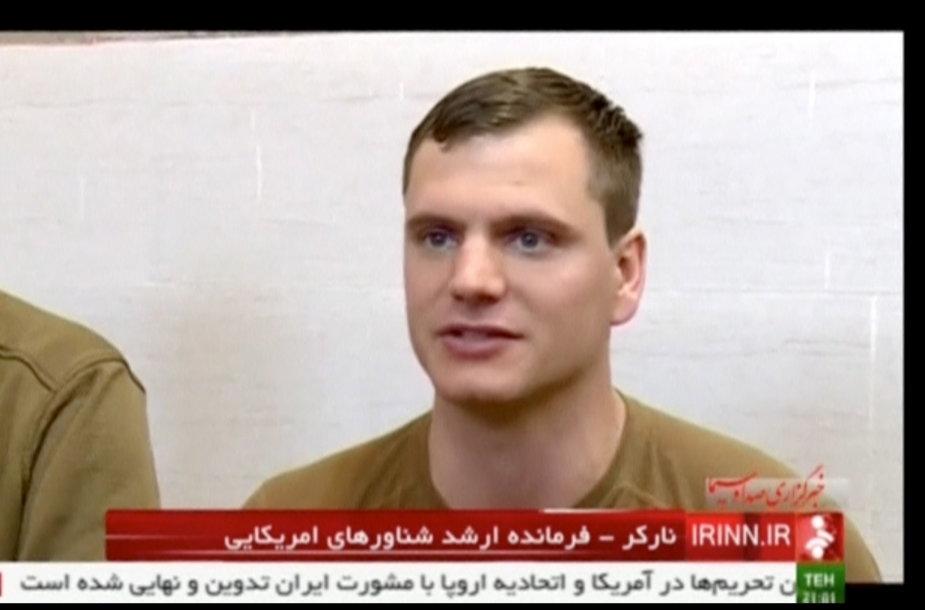 JAV jūrininkai Irane