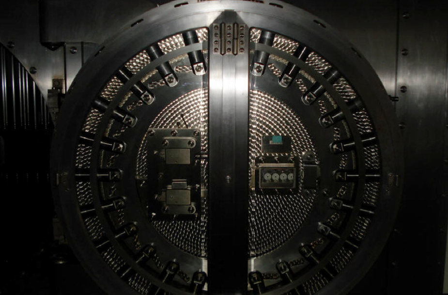 Banko seifo durys