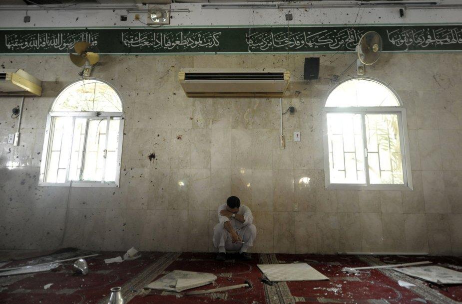 Saudo Arabijos šiitų mečetėje susisprogdino mirtininkas