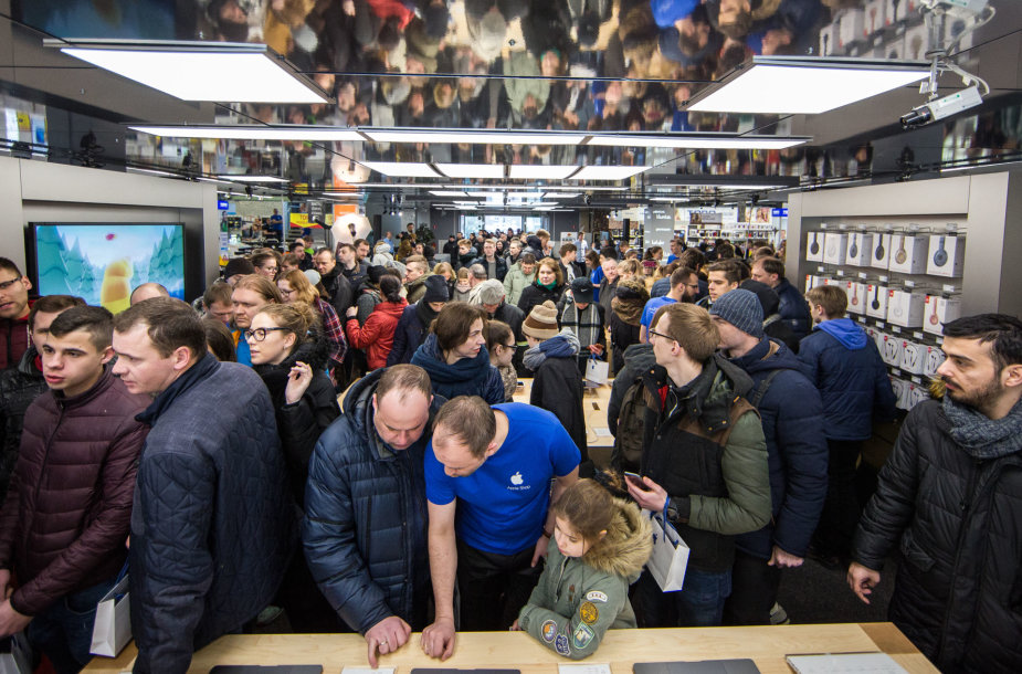"Lietuvoje atidaryta pirmoji ""Apple Shop"""