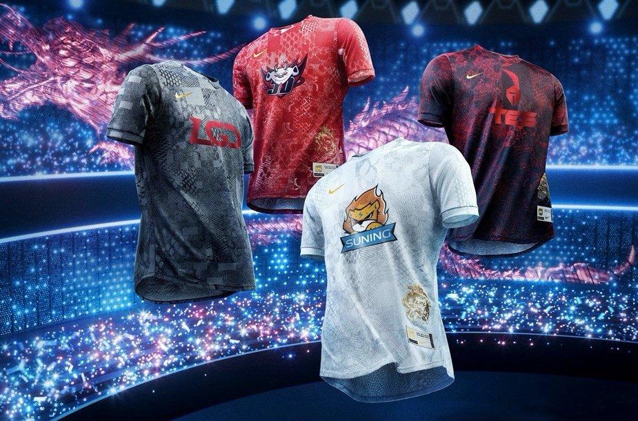 "Nike ""League of Legends"" kolekcija"
