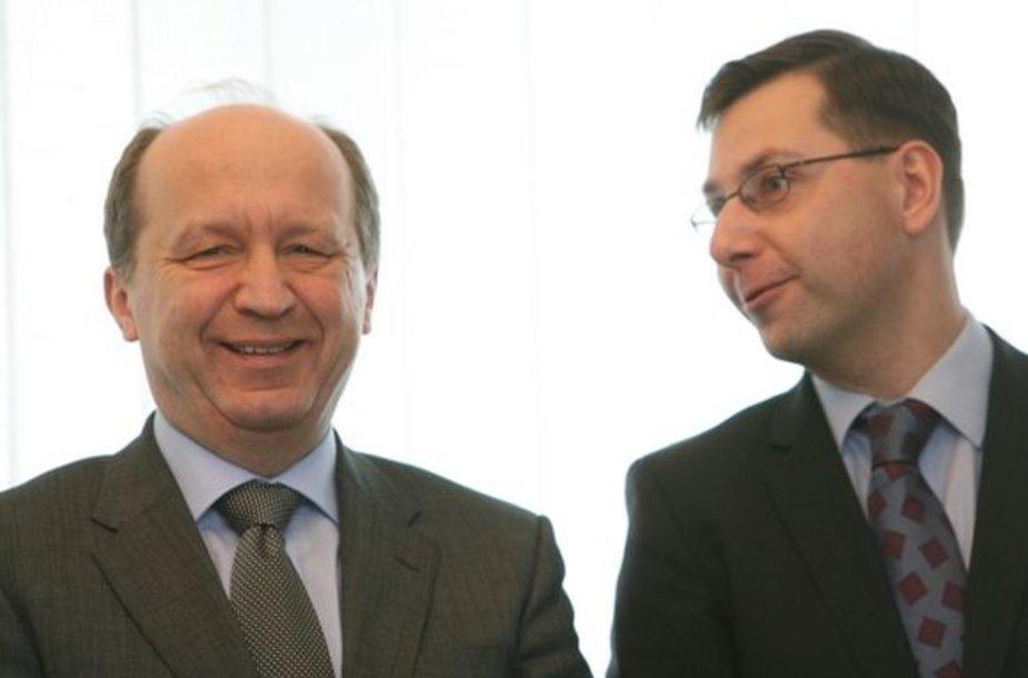 Andrius Kubilius ir Gintaras Steponavičius