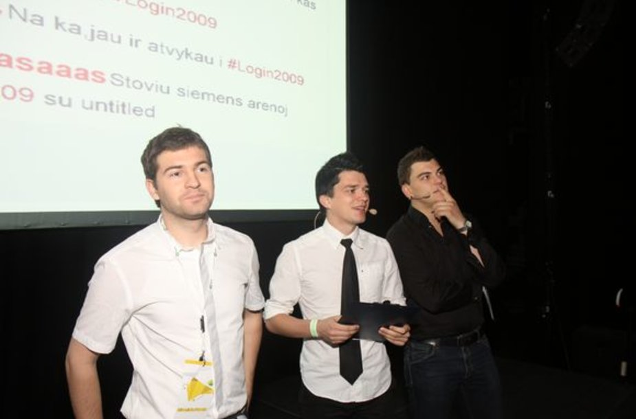"Akimirka iš konferencijos ""Login2009"""