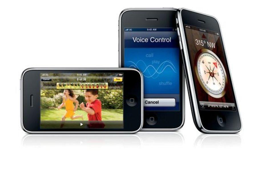 """Madridė pasirodė naujasis """"iPhone 3GS""""."""