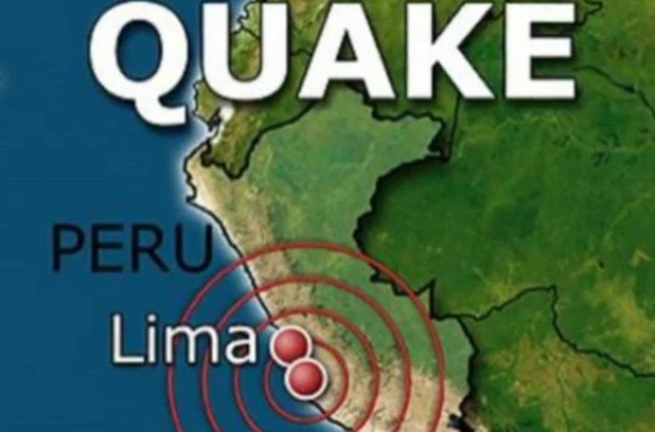 Žemės drebėjimas Peru