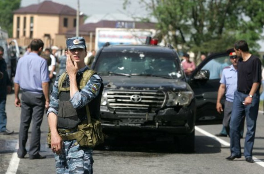 Junuso-Beko Jevkurovo automobilis po pasikėsinimo