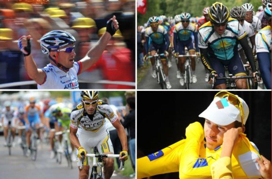 Sergejus Ivanovas laimėjo lenktynių Tour De France etapą