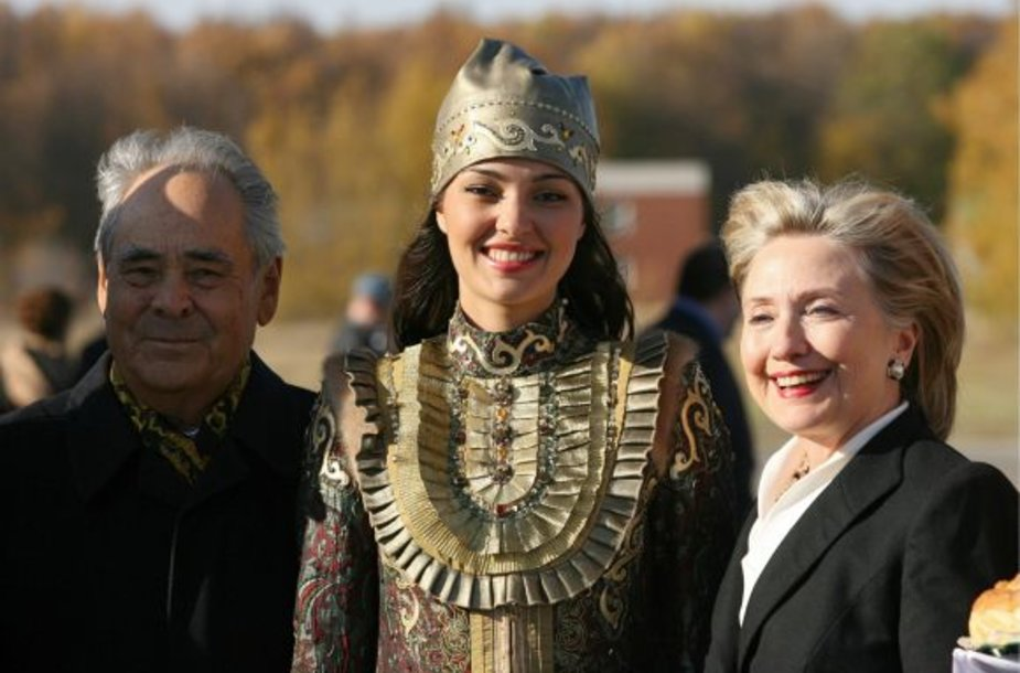 H.Clinton Kazanėje