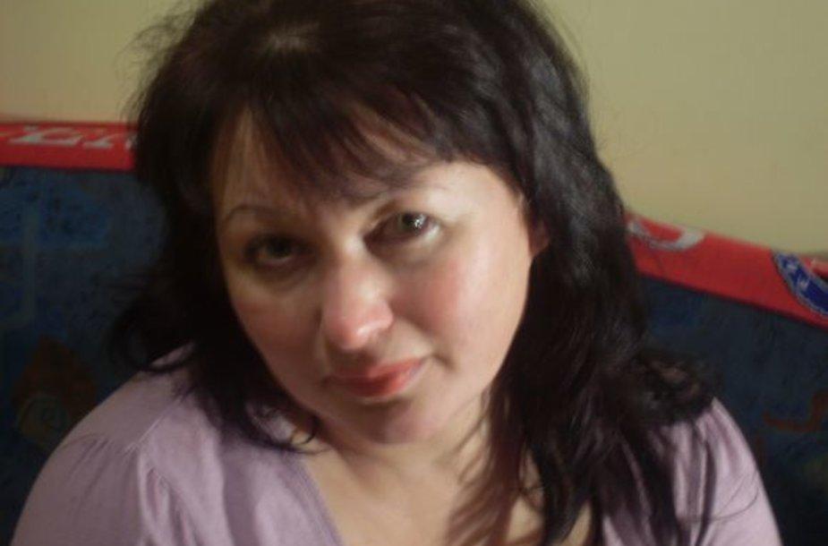 V.Blinkevičiūtės antrininkė p. Violeta