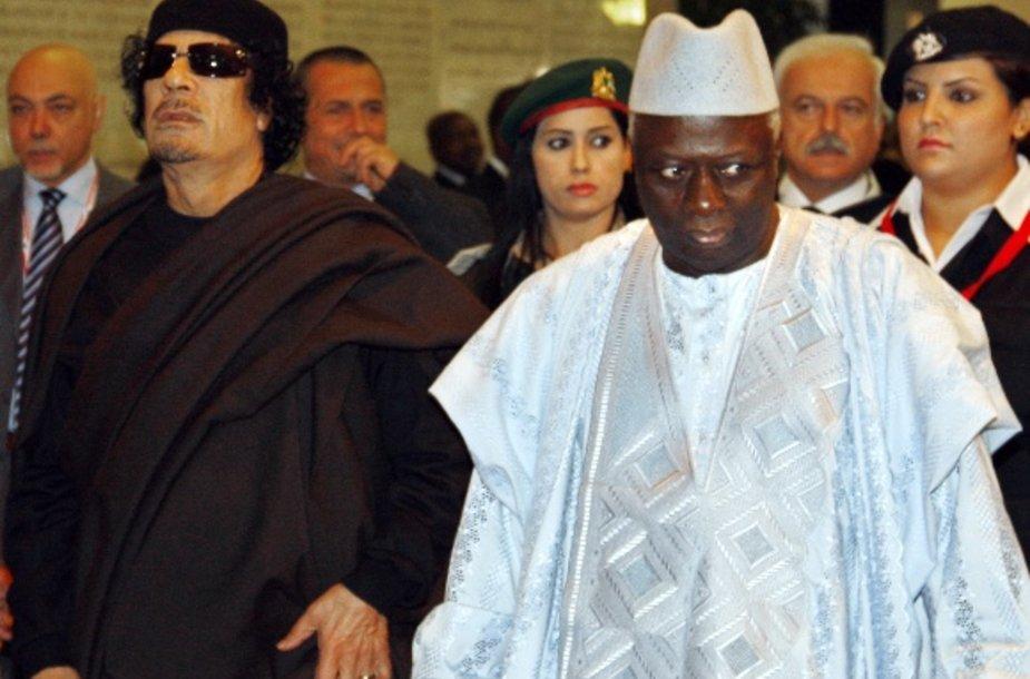 Libijos Muammaras Gaddafis Romoje