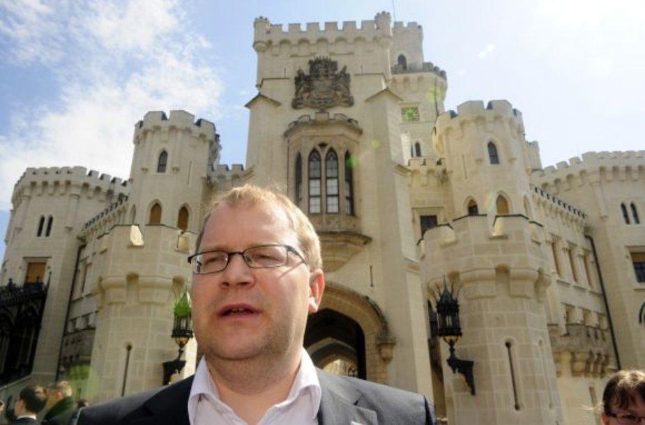 Estijos užsienio reikalų ministras Urmas Paet