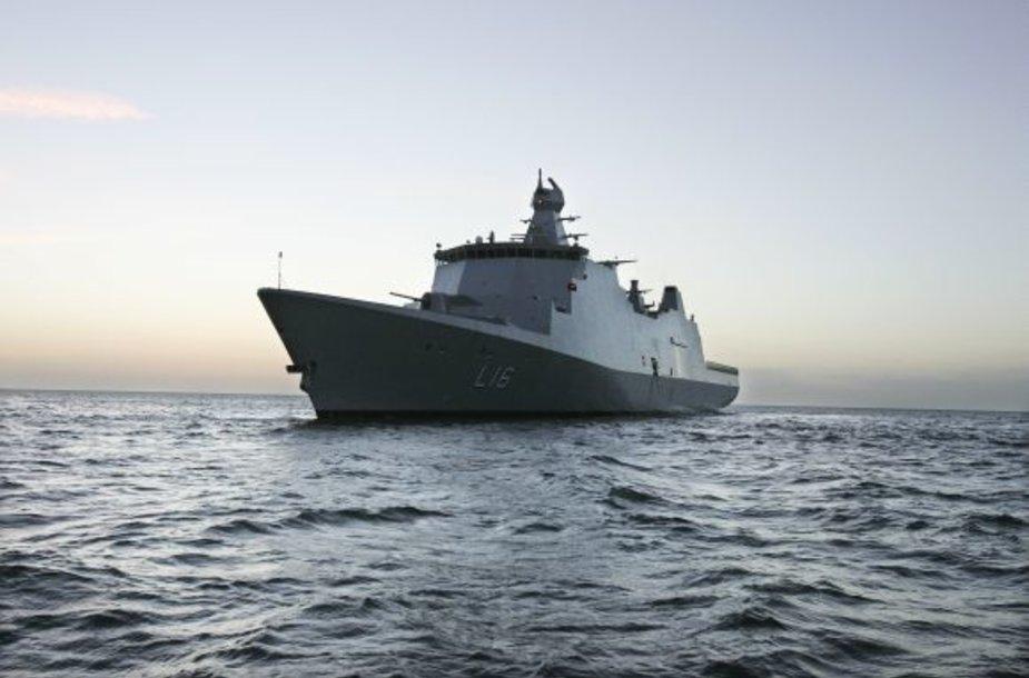 Absalon, Danijos karo laivas