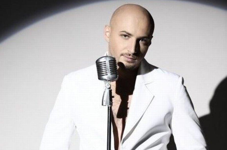 Eurovizija: ukrainietis V.Lazarovičius