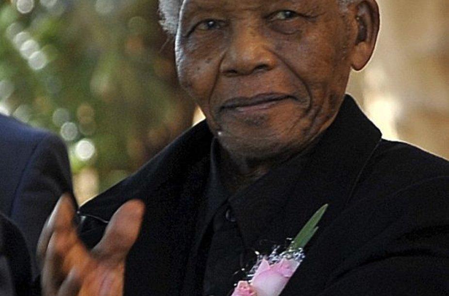 Nelsonas Mandela laidotuvėse
