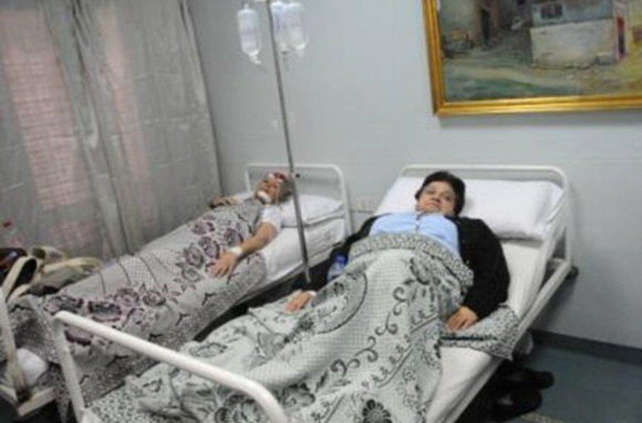 Sužeisti autobuso keleiviai Egipte