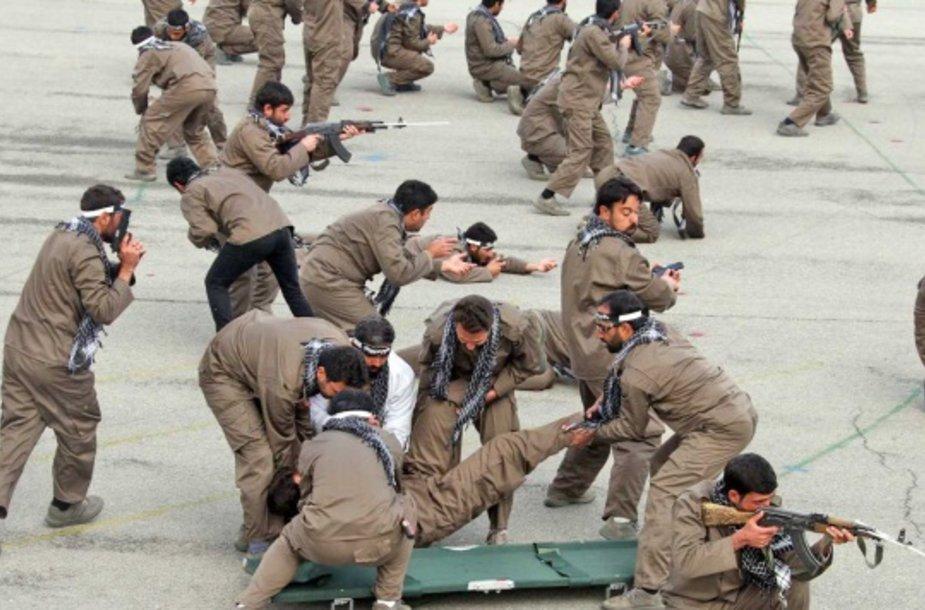 Teherano milicijos pajėgos