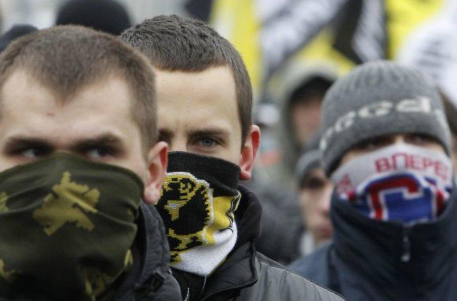 Nacionalistų mitingas Maskvoje