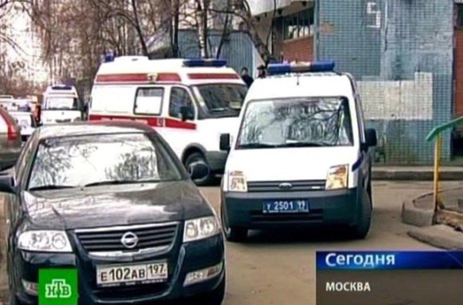 Nužudymas Maskvoje