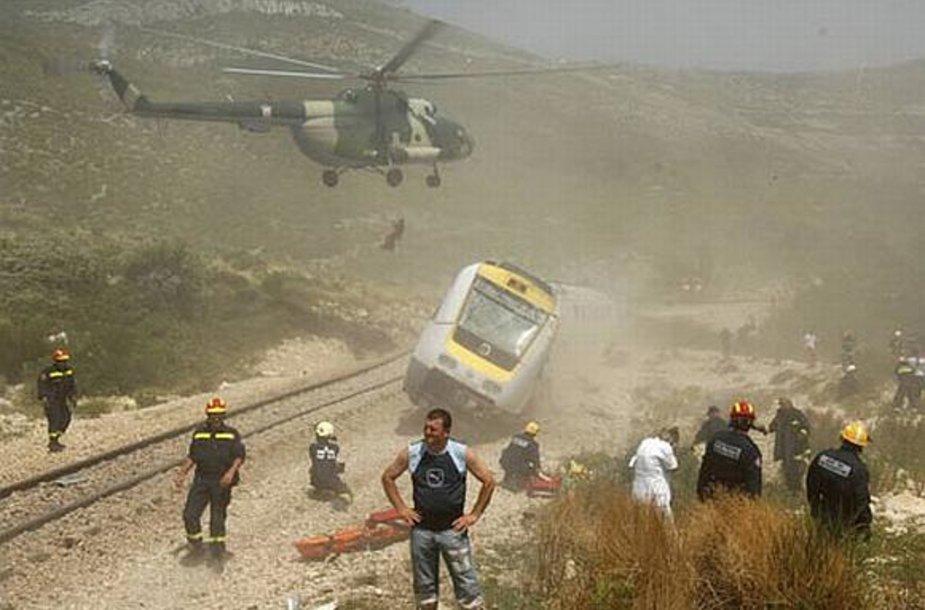 Traukinio avarija Kroatijoje