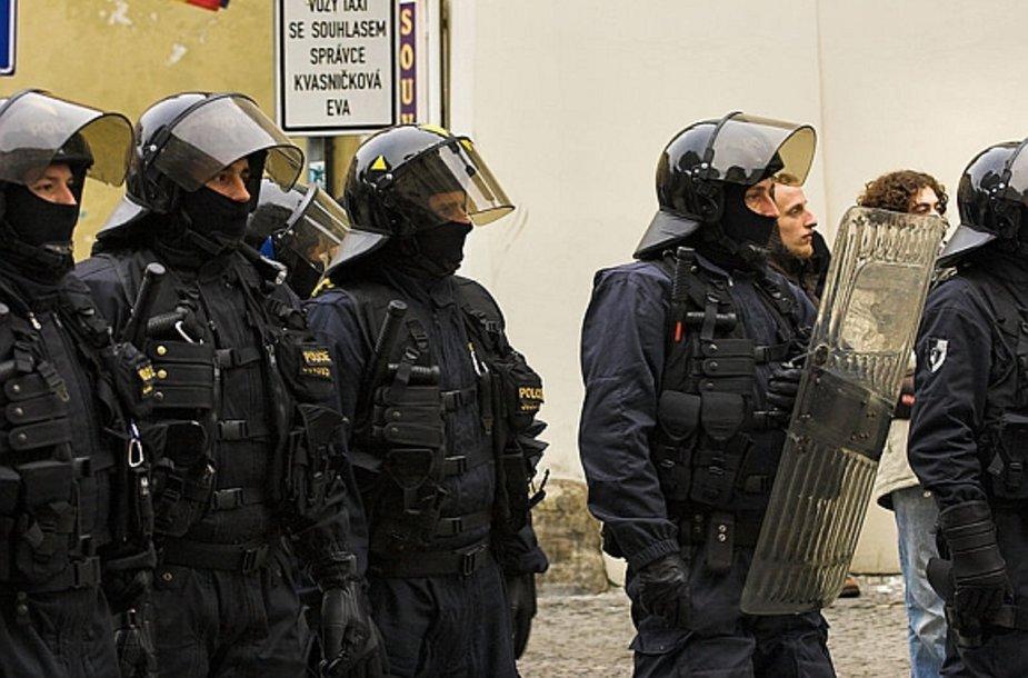 Čekijos policininkai