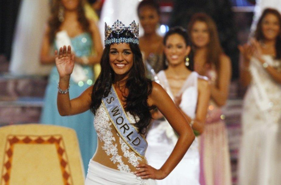 """""""Miss Pasaulis 2009"""" Kaiane Aldorino"""