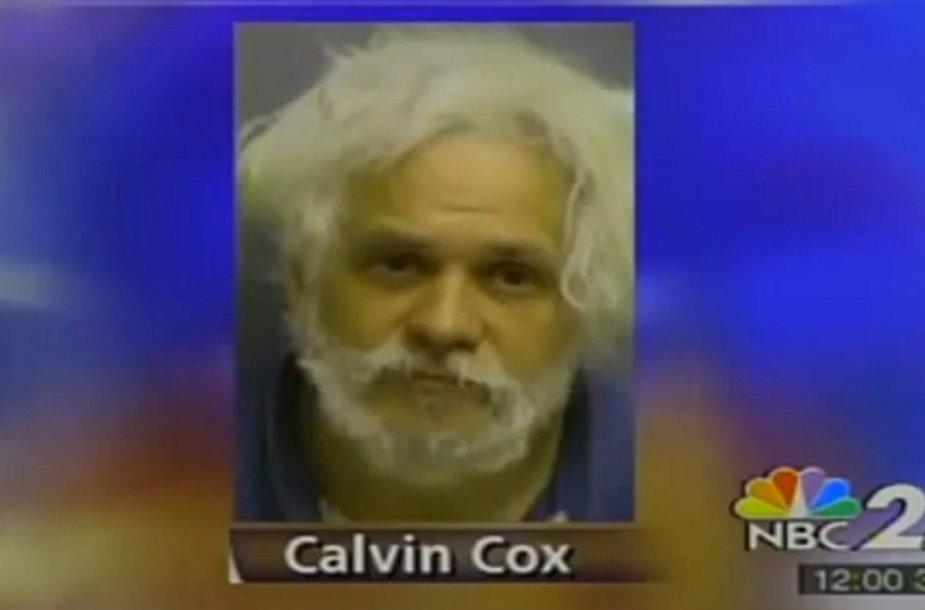 Calvino Coxo nuotrauka, parodyta televizijos kanalo NBC eteryje