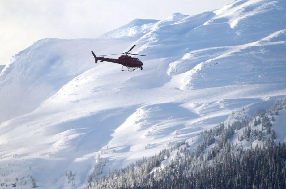 Sraigtasparnis kalnuose