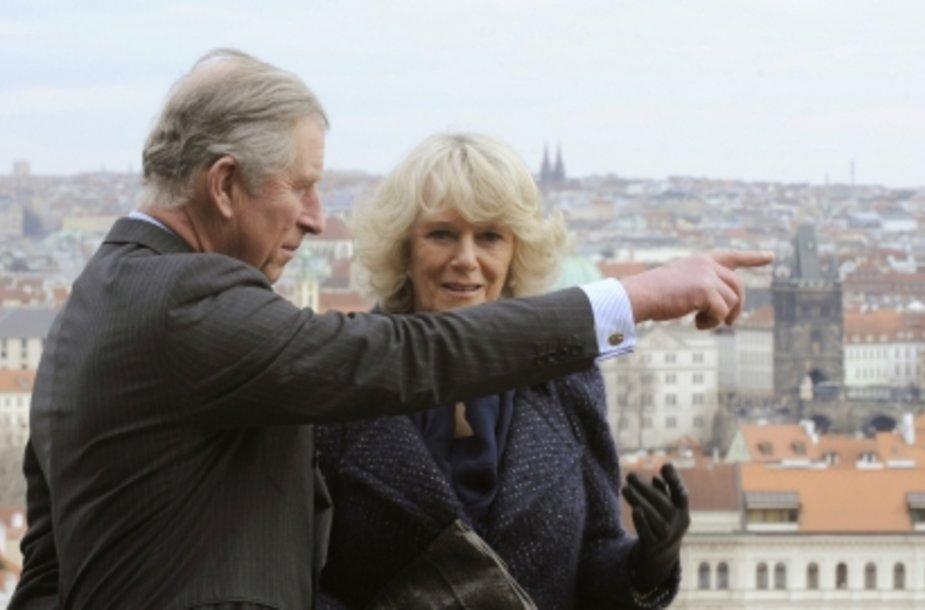 Princas Charlesas ir hercogienė Camilla