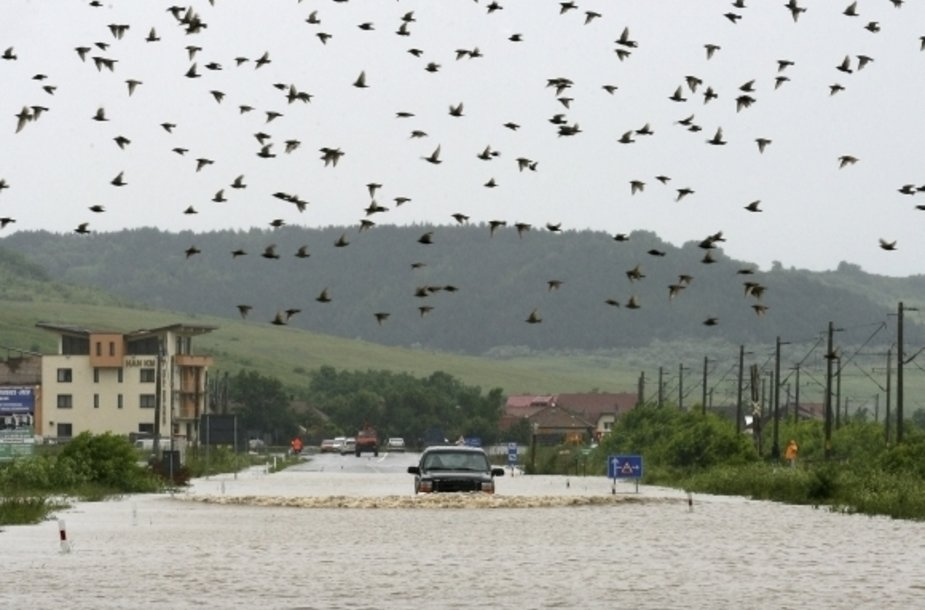 Potvynis Rumunijoje
