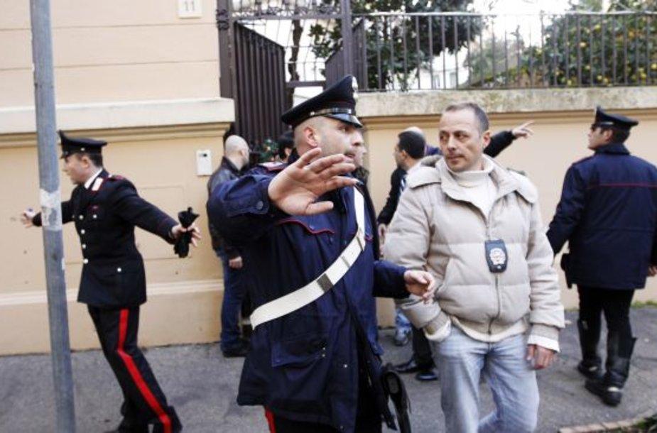Po sprogimo Čilės ambasadoje