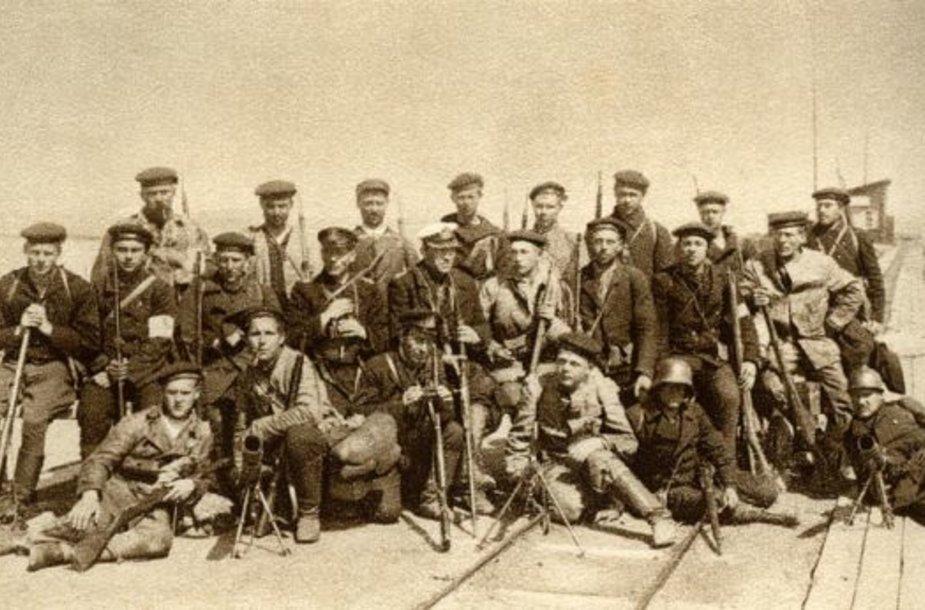 Estijos išsivadavimo karo meto jūreviai (1919 m.)