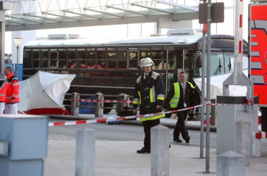 Per šaudymą Frankfurto oro uoste žuvo du žmonės.