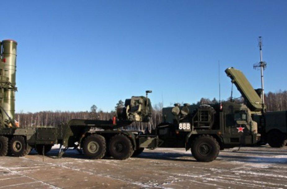 Mobilioji Rusijos PRG sistema S-400