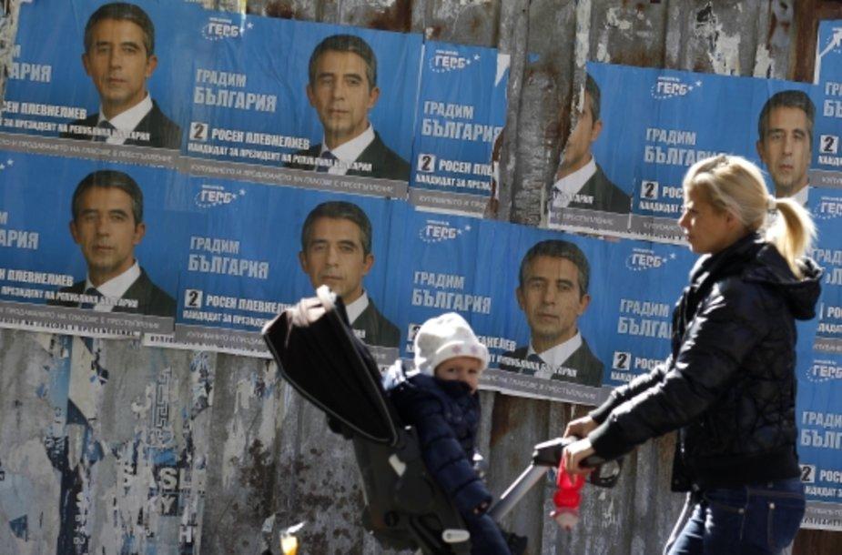 Apklausa apie balsų pardavinėjimą Bulgarijoje surengta prieš savaitgalį vyksiančius rinkimus.