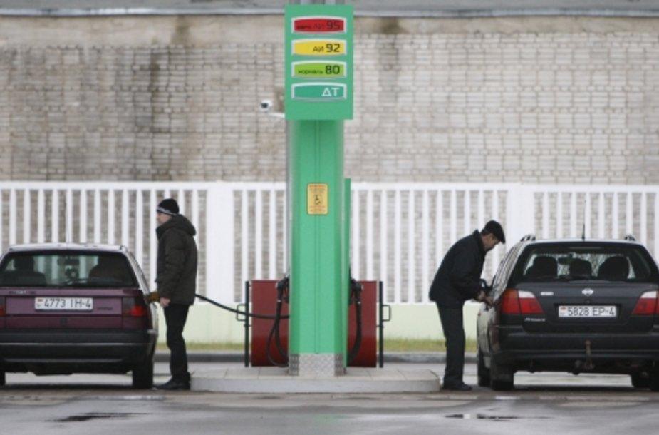Degalai Baltarusijoje pabrango 10 procentų.