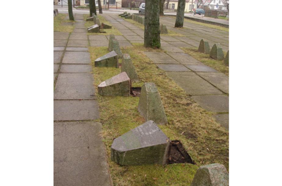 Nusiaubtos kapinės Krekenavoje