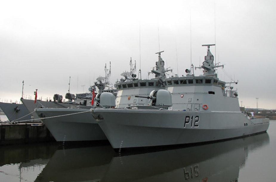 Naujas patrulinis laivas