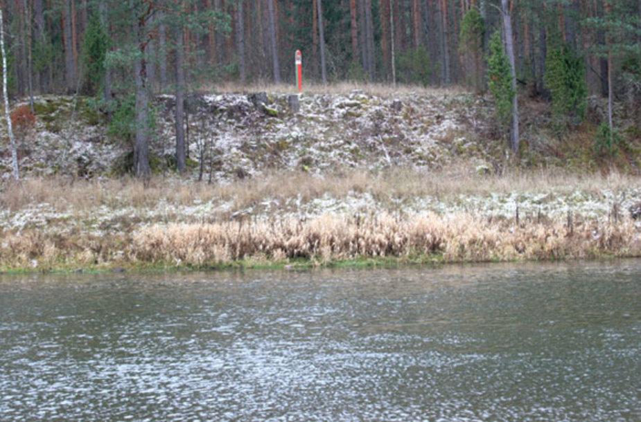 Kitame upės krante jau Baltarusija