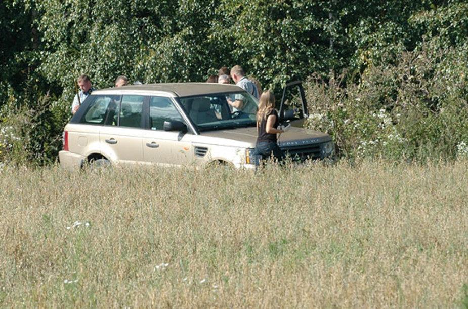 Policijos pareigūnai įvykio vietoje