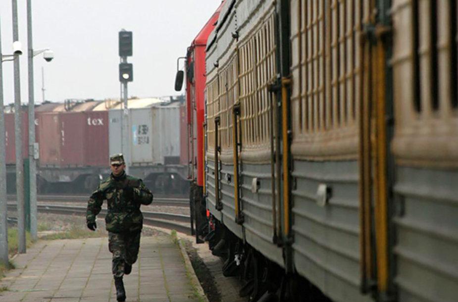 Kenos geležinkelio stotyje