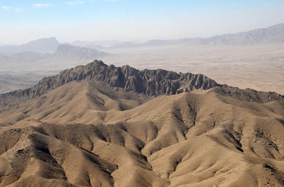 Afganistanas iš paukščio skrydžio