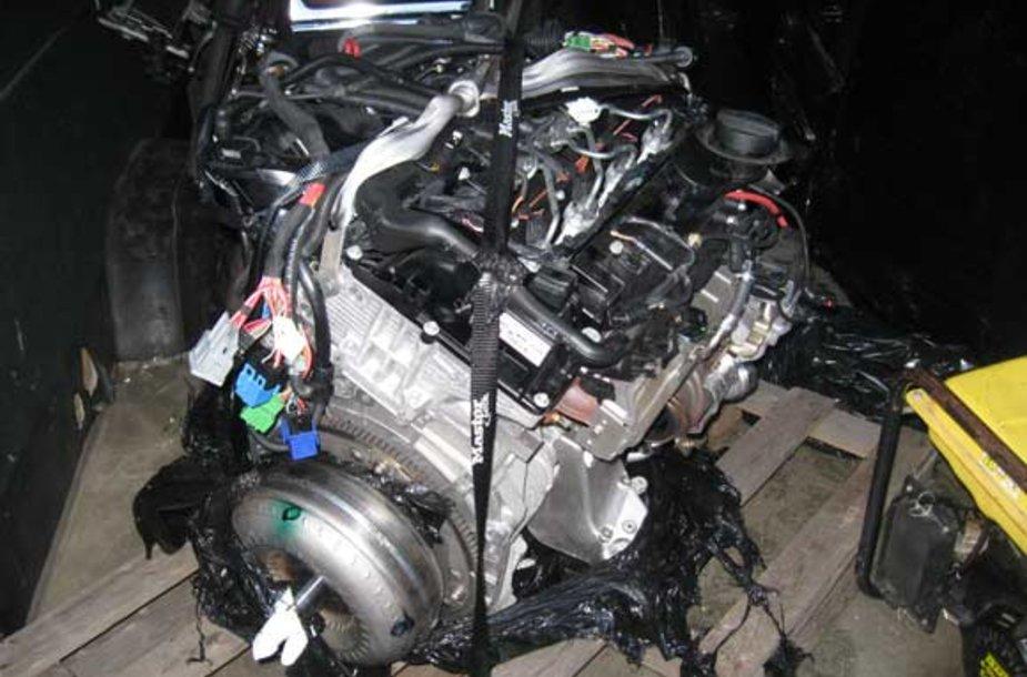 Vogtas BMW variklis