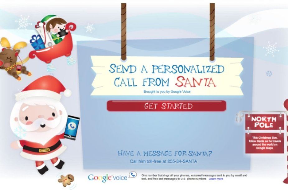Kalėdų Senelio skambutis