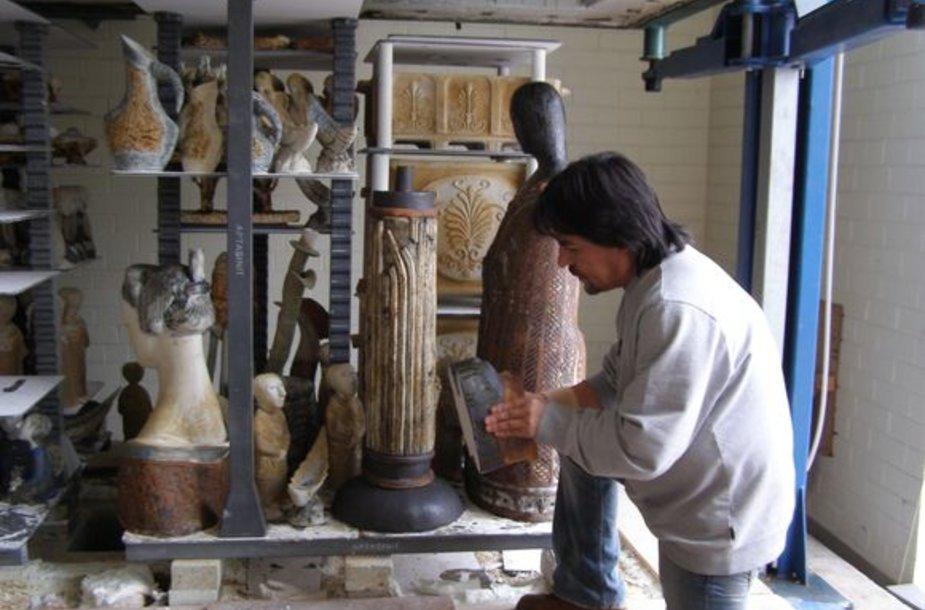 Keramikos paslaptis atskleis I.Baroti.