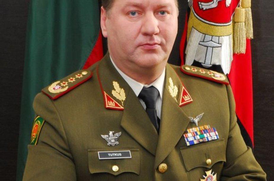 Generolas leitenantas Valdas Tutkus