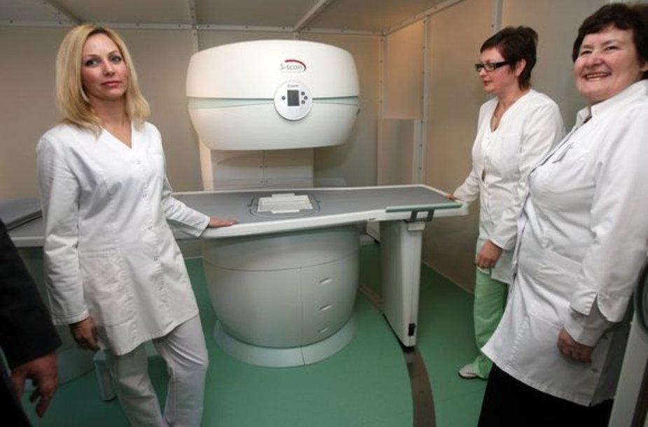 Tik pasirašius sutartį su ligonių kasa pacientai naujajame kabinete bus tiriami nemokamai.